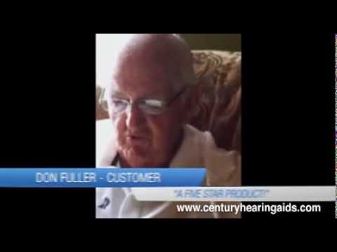 Hearing Aid Review for Century Hearing Aids from Donald Fuller