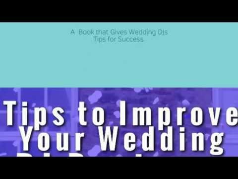 Tips to Improve your wedding DJ Business Book.