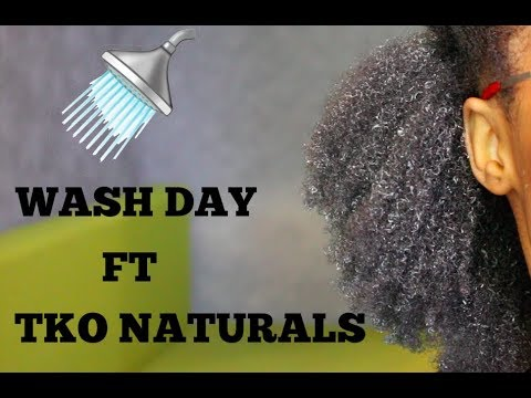 WASH DAY ROUTINE FT TKO NATURALS