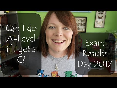 Can I do A-Level if I get a C? GCSE Exam Results Day 2017