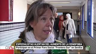 'Foro Social Frontera Sur' en Canal Sur Noticias