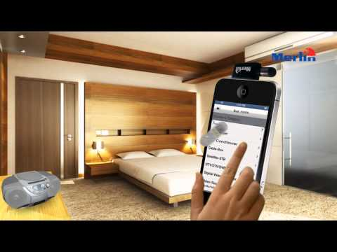 Universal Remote Control for iPhone and iPad- Merlin U-Remote