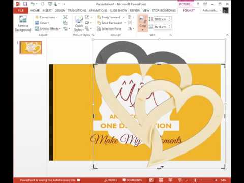 Easily create posters using powerpoint