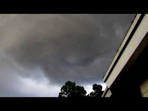 Tornado forming over Rivieria Bay Neighborhood