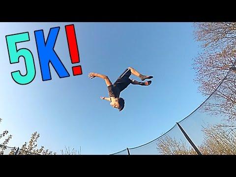 Trampolin & Freerunning! 5k special!!
