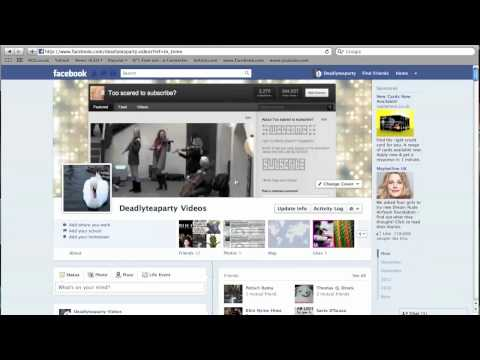 New FaceBook Layout 2011 (TimeLine)