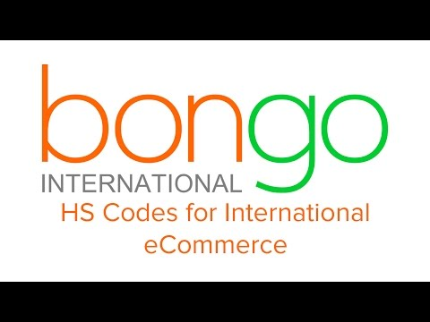 HS Codes for International eCommerce