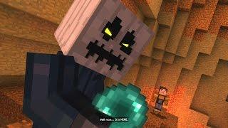 Minecraft Story Mode Battling The White Pumpkin 29