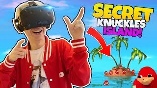 HOW TO FIND THE SECRET UGANDAN KNUCKLES TRIBE ISLAND   VRChat: Funny Moments (HTC Vive Gameplay)