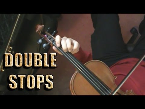 How to practice Double Stops - Violin