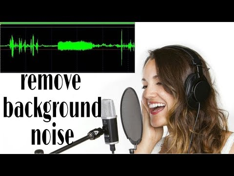 how to reduce noise in voice recording for free software