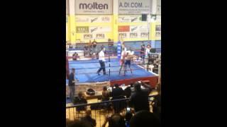 Marco De Virgilio vs Luca Roma , Titolo Italiano W.M.C. 135 libre kg. 61,200