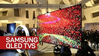Samsung QLED TVs use quantum dots to battle LG