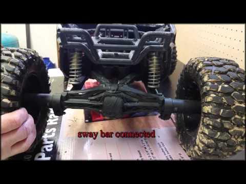 Yeti XL - DIY rear sway bar