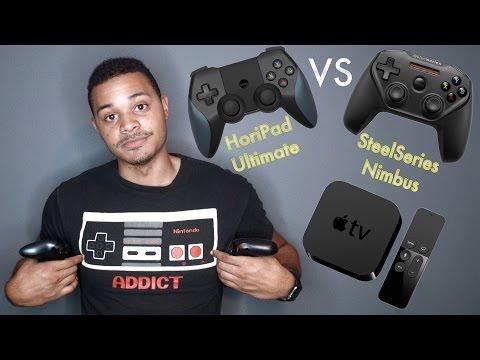 Apple TV 4 Controllers: Steelseries Nimbus VS. HoriPad Ultimate