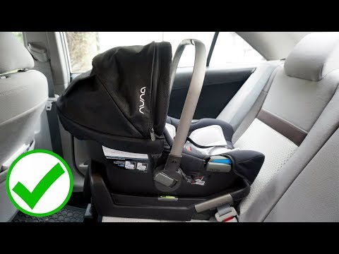 How to Correctly Install a Nuna Pipa Car Seat