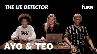 Ayo & Teo Take A Lie Detector Test | Fuse