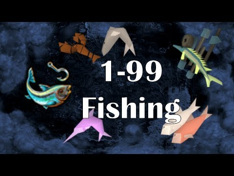 RS07: 1-99 Fishing Guide | Fastest Training Methods on Old School RS2007 | Fish 07 by Idk Whats Rc