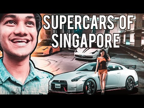 Billionaire Lifestyle of Singapore | Ferrari Lamborghini Porsche | Supercars Nightlife Vlog