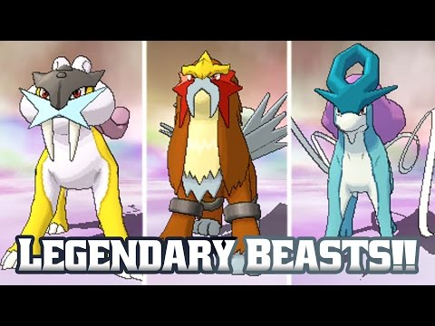 Pokémon Omega Ruby Legendary Beasts!! (Bonus Ep 12)