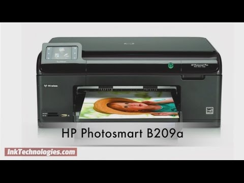 HP Photosmart B209a Instructional Video