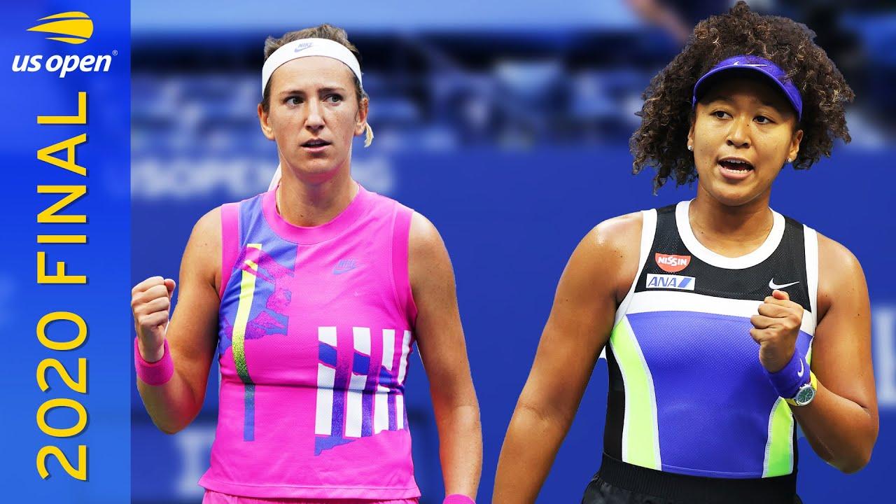 Naomi Osaka vs Victoria Azarenka Full Match | US Open 2020 Final