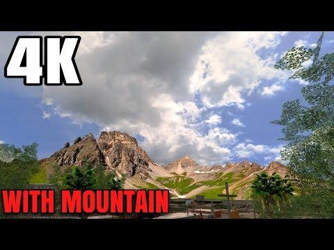 Skybox 4K Extreme With Mountain For GTA SA Android