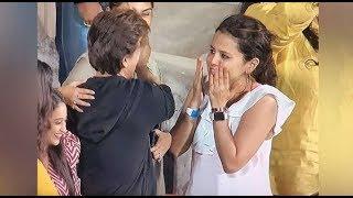 When Sakshi Met Shahrukh Khan After IPL 2018 Match CSK Vs KKR