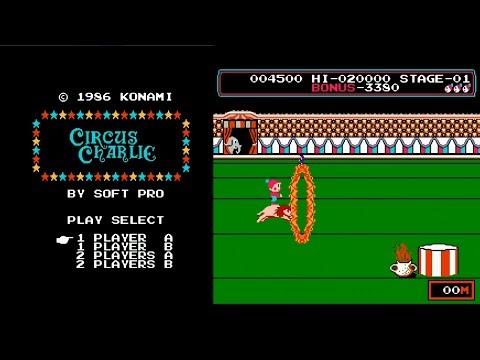 Circus Charlie - Eu jogava no Nintendo! (Phantom System)