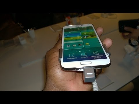 How to setup the Samsung Galaxy S5 Fingerprint Sensor