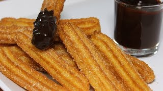 Download Eggless Churros Easy Recipe | Churros With Chocolate Sauce | How to make Churros | Kanak's Kitchen Video