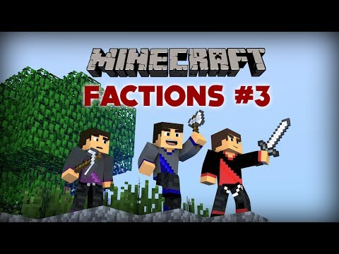 Minecraft: Factions Let's Play - Ep. 3 - Build Time!