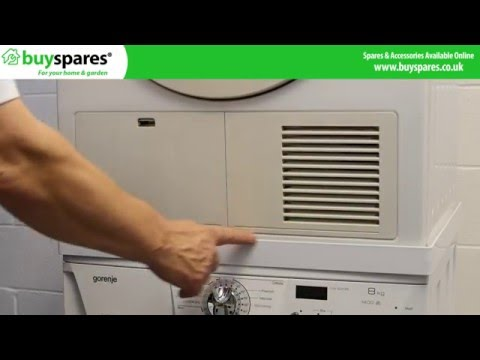 How to Use a Tumble Dryer Stacking Kit