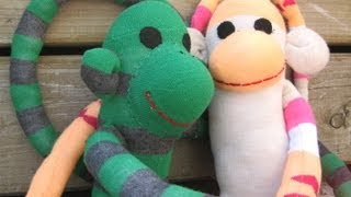 Sewing Project How To Make A Lvable Sock Monkey