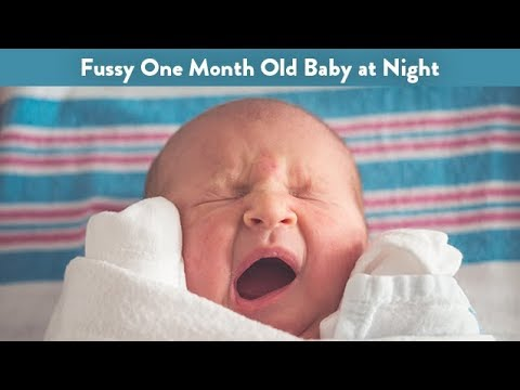 Fussy One Month Old Baby at Night | CloudMom
