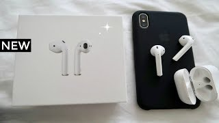 New Apple Airpods Unboxing | Apple Store