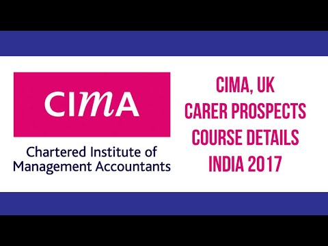 CIMA UK | Career Prospects  | Course Details  | India  | 2017