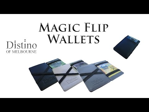 Magic Flip Wallet by Distino (How To Use + Features)