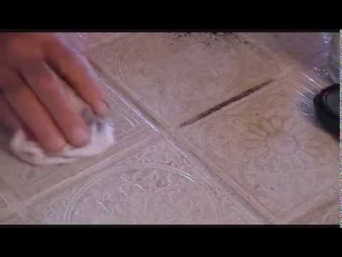 Grout Sensation Grout Cleaner Removes Permanent Marker, Stain, Crayon, and Black Dirt