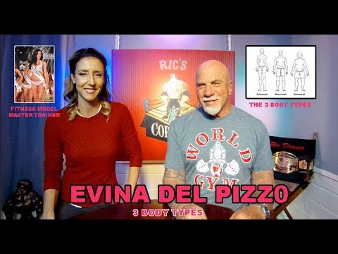 Evina Del Pizzo   BODY-TYPES Fitness Model  Master Trainer