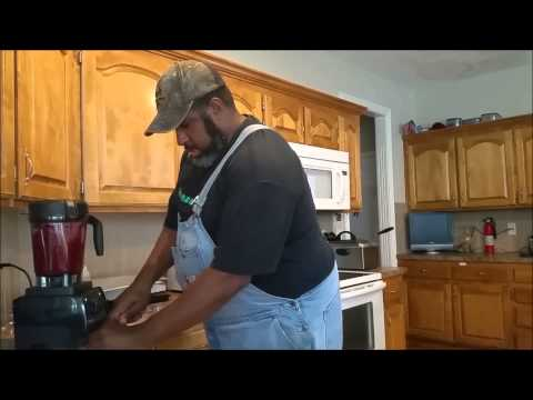 Making Beet Juice with the Blender