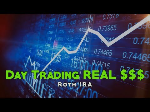 Day Trading REAL Money in my Roth IRA!
