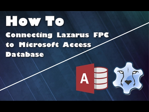 How to Connecting Lazarus FPC With Access Database