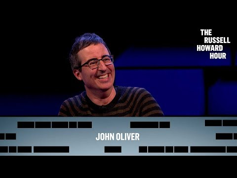 Russell chats to Emmy award winning host of Last Week Tonight John Oliver