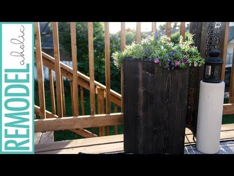 Build an easy, Inexpensive Wood Hexagon Planter Box