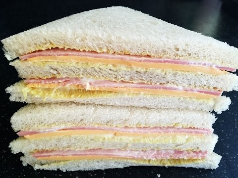 Sandwich Recipes : Ham & Cheese Sandwich Recipe