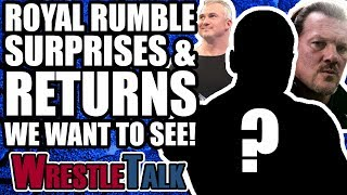 WWE Royal Rumble 2018 Surprises, Debuts And Returns WE WANT TO SEE! | WrestleTalk Opinion