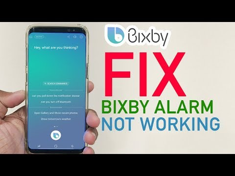 How To Fix Samsung Bixby Briefing Alarm Not Working Galaxy s8