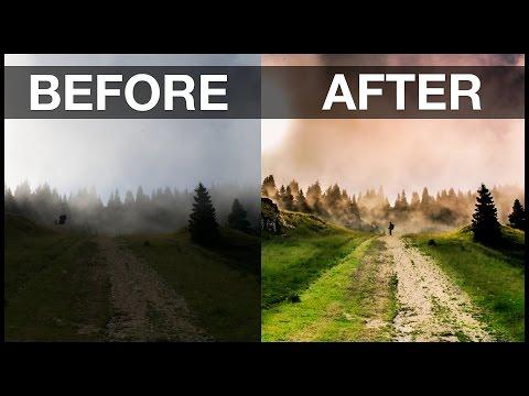Landscape Photo Tutorial: Basic Lightroom and Photoshop Workflow