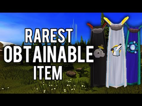 Runescape - Rarest obtainable item in the game